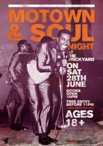 Motown & Soul Night is a great choice to have Rick The Singer